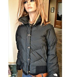 The North Face Goose down Black Puffer Coat Jacket
